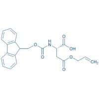 Fmoc-Asp(allyl ester)-OH