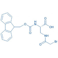 Fmoc-Dap(bromoacetyl)-OH