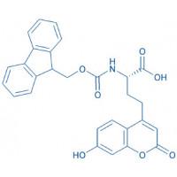 Fmoc-4-(7-hydroxycoumarin-4-yl)-Abu-OH