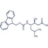 Fmoc-statine (3S,4S)-4-(Fmoc-amino)-3-hydroxy-6-methyl-heptanoic acid