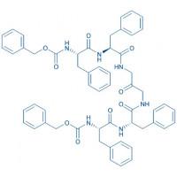 1,3-Bis-(Z-Leu-Leu)-diaminoacetone Z-Leu-Leu-NH-CH₂-CO-CH₂-NH-Leu-Leu-Z