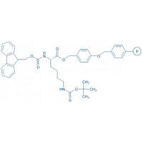Fmoc-Lys(Boc)-Wang resin (200-400 mesh, 0.5-1.0 mmol/g) Fmoc-Lys(Boc)-4-alkoxybenzyl alcohol resin
