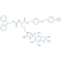 Fmoc-Arg(Pbf)-Wang resin (200-400 mesh, 0.50-1.00 mmol/g) Fmoc-Arg(Pbf)-4-alkoxybenzyl alcohol resin