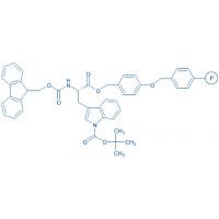 Fmoc-Trp(Boc)-Wang resin (200-400 mesh, 0.5-0.8 mmol/g) Fmoc-Trp(Boc)-4-alkoxybenzyl alcohol resin