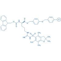 Fmoc-D-Arg(Pbf)-Wang resin (200-400 mesh, 0.50-1.00 mmol/g) Fmoc-D-Arg(Pbf)-4-alkoxybenzyl alcohol resin