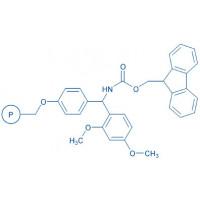 4-(2',4'-Dimethoxyphenyl-Fmoc-aminomethyl)-phenoxymethyl-polystyrene resin (200-400 mesh, 0.80-1.20 mmol/g)