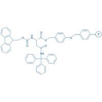Fmoc-Asn(Trt)-Wang resin (100-200 mesh, 0.40-0.80 mmol/g) Fmoc-Asn(Trt)-4-alkoxybenzyl alcohol resin