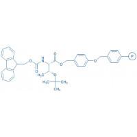 Fmoc-Thr(tBu)-Wang resin (100-200 mesh, 0.40-0.80 mmol/g) Fmoc-Thr(tBu)-4-alkoxybenzyl alcohol resin