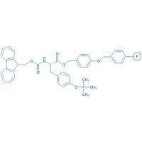 Fmoc-Tyr(tBu)-Wang resin (100-200 mesh, 0.40-0.90 mmol/g) Fmoc-Tyr(tBu)-4-alkoxybenzyl alcohol resin