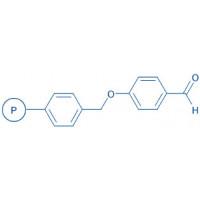 4-Formyl-phenyloxymethyl polystyrene resin (200-400 mesh)