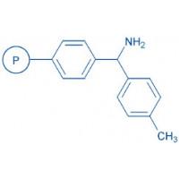 4-Methyl-benzhydrylamine resin (100-200 mesh, 0.70-1.30 mmol/g) · HCl