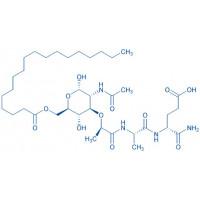 Ac-(6-O-stearoyl)-muramyl-Ala-D-Glu-NH₂