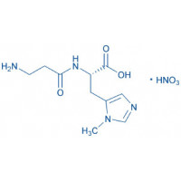 L-Anserine · nitrate                                     H-β-Ala-His(3-Me)-OH · nitrate