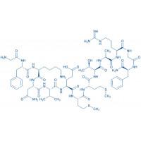 Allatotropin H-Gly-Phe-Lys-Asn-Val-Glu-Met-Met-Thr-Ala-Arg-Gly-Phe-NH