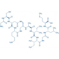 Amyloid β-Protein (25-35) trifluoroacetate salt H-Gly-Ser-Asn-Lys-Gly-Ala-Ile-Ile-Gly-Leu-Met-OH trifluoroacetate salt