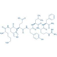 AF-2 H-Lys-His-Glu-Tyr-Leu-Arg-Phe-NH₂