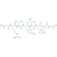 (Sar,Gly)-Angiotensin II Sar-Arg-Val-Tyr-Ile-His-Pro-Gly-OH