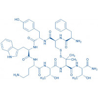 H-D-Phe-Cys-Tyr-D-Trp-Orn-Thr-Pen-Thr-NH₂ trifluoroacetate salt(Disulfide bond)