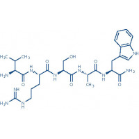 Osteostatin (1-5) amide (human, bovine, dog, horse, mouse, rabbit, rat) trifluoroacetate salt H-Thr-Arg-Ser-Ala-Trp-NH trifluoroacetate salt