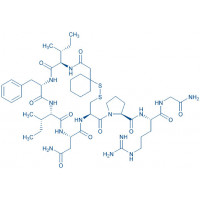 (d(CH₂)₅¹,D-Ile²,Ile⁴,Arg⁸)-Vasopressin trifluoroacetate salt β-Mercapto-β,β-cyclopentamethylene-propionyl-D-Ile-Phe-Ile-Asn-Cys-Pro-Arg-Gly-NH₂ trifluoroacetate salt(Disulfide bond)