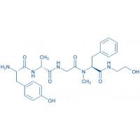 (D-Ala²,N-Me-Phe⁴,glycinol⁵)-Enkephalin acetate salt H-Tyr-D-Ala-Gly-N-Me-Phe-glycinol acetate salt