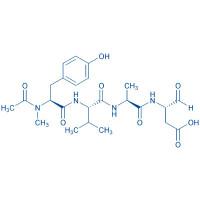 Ac-N-Me-Tyr-Val-Ala-Asp-aldehyde (pseudo acid)