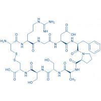 H-Cys-Arg-Gly-Asp-Phe-Pro-Ala-Ser-Ser-Cys-OH(Disulfide bond)