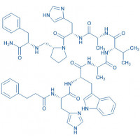 (Deamino-Phe¹⁹,D-Ala²⁴,D-Pro²⁶-psi(CH₂NH)Phe²⁷)-GRP (19-27) (human, porcine, canine) trifluoroacetate salt Deamino-Phe-His-Trp-Ala-Val-D-Ala-His-D-Pro-psi(CH₂NH)Phe-NH₂ trifluoroacetate salt