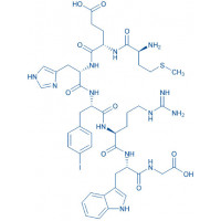 (p-Iodo-Phe)-ACTH (4-10) H-Met-Glu-His-p-iodo-Phe-Arg-Trp-Gly-OH