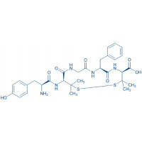(D-Pen²,D-Pen⁵)-Enkephalin trifluoroacetate salt H-Tyr-D-Pen-Gly-Phe-D-Pen-OH trifluoroacetate salt(Disulfide bond)
