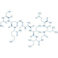 (Met(O))-Amyloid -Protein (25-35) trifluoroacetate salt H-Gly-Ser-Asn-Lys-Gly-Ala-Ile-Ile-Gly-Leu-Met(O)-OH trifluoroacetate salt