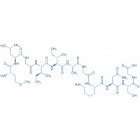 Amyloid -Protein (35-25) trifluoroacetate salt H-Met-Leu-Gly-Ile-Ile-Ala-Gly-Lys-Asn-Ser-Gly-OH trifluoroacetate salt