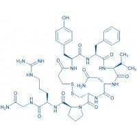 (Deamino-Cys¹,Val⁴,D-Arg⁸)-Vasopressin 3-Mercaptopropionyl-Tyr-Phe-Val-Asn-Cys-Pro-D-Arg-Gly-NH₂(Disulfide bond)