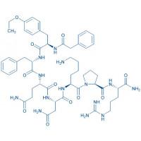 (Phenylac¹,D-Tyr(Et)²,Lys⁶,Arg⁸,des-Gly⁹)-Vasopressin trifluoroacetate salt Phenylac-D-Tyr(Et)-Phe-Gln-Asn-Lys-Pro-Arg-NH₂ trifluoroacetate salt