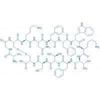 (D-Trp⁸)-Somatostatin-14 trifluoroacetate salt H-Ala-Gly-Cys-Lys-Asn-Phe-Phe-D-Trp-Lys-Thr-Phe-Thr-Ser-Cys-OH trifluoroacetate salt(Disulfide bond)
