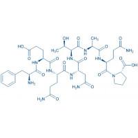 (Gln⁵³)-Connexin 37 (51-58) (human, mouse, rat) H-Phe-Glu-Gln-Asn-Thr-Ala-Gln-Pro-OH