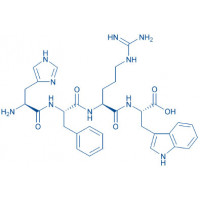 Characteristic MSH-Tetrapeptide H-His-Phe-Arg-Trp-OH