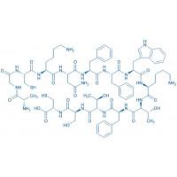Somatostatin-14 (reduced) H-Ala-Gly-Cys-Lys-Asn-Phe-Phe-Trp-Lys-Thr-Phe-Thr-Ser-Cys-OH