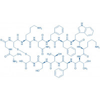(D-Phe)-Somatostatin-14 H-Ala-Gly-Cys-Lys-Asn-Phe-D-Phe-Trp-Lys-Thr-Phe-Thr-Ser-Cys-OH(Disulfide bond)