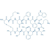Somatostatin-14 (3-14) trifluoroacetate salt H-Cys-Lys-Asn-Phe-Phe-Trp-Lys-Thr-Phe-Thr-Ser-Cys-OH trifluoroacetate salt(Disulfide bond)