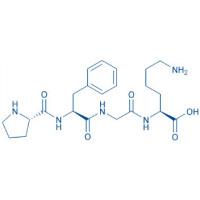 H-Pro-Phe-Gly-Lys-OH acetate salt