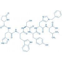 (D-His(Bzl)⁶)-LHRH (1-7) (free acid) Pyr-His-Trp-Ser-Tyr-D-His(Bzl)-Leu-OH