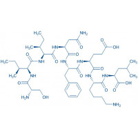 Ovalbumin (257-264) (chicken) trifluoroacetate salt H-Ser-Ile-Ile-Asn-Phe-Glu-Lys-Leu-OH trifluoroacetate salt