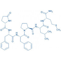 (Pyr⁶,Pro⁹)-Substance P (6-11) Pyr-Phe-Phe-Pro-Leu-Met-NH₂