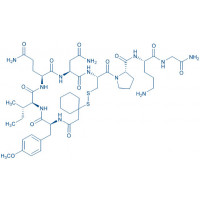 (d(CH₂)₅¹,Tyr(Me)²,Orn⁸)-Oxytocin trifluoroacetate salt β-Mercapto-β,β-cyclopentamethylene-propionyl-Tyr(Me)-Ile-Gln-Asn-Cys-Pro-Orn-Gly-NH₂ trifluoroacetate salt(Disulfide bond)