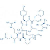 (Deamino-Pen¹,Val⁴,D-Arg⁸)-Vasopressin 3-Mercapto-3-methyl-butyryl-Tyr-Phe-Val-Asn-Cys-Pro-D-Arg-Gly-NH₂(Disulfide bond)
