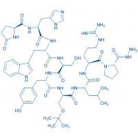 (Des-Gly¹⁰,D-Ser(tBu)⁶,Pro-NHNH₂⁹)-LHRH trifluoroacetate salt Pyr-His-Trp-Ser-Tyr-D-Ser(tBu)-Leu-Arg-Pro-NHNH₂ trifluoroacetate salt
