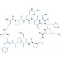 Apelin-12 (human, bovine, mouse, rat) H-Arg-Pro-Arg-Leu-Ser-His-Lys-Gly-Pro-Met-Pro-Phe-OH