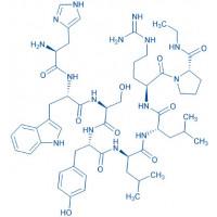 (Des-Pyr,Des-Gly,D-Leu,Pro-NHEt)-LHRH trifluoroacetate salt H-His-Trp-Ser-Tyr-D-Leu-Leu-Arg-Pro-NHEt trifluoroacetate salt