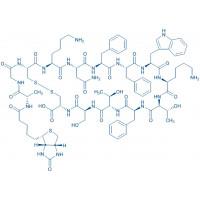 Biotinyl-Somatostatin-14 Biotinyl-Ala-Gly-Cys-Lys-Asn-Phe-Phe-Trp-Lys-Thr-Phe-Thr-Ser-Cys-OH(Disulfide bond)